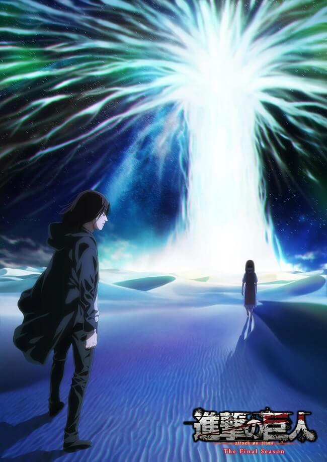 Attack on Titan The Final Season - Parte 2 recebe Novo Poster
