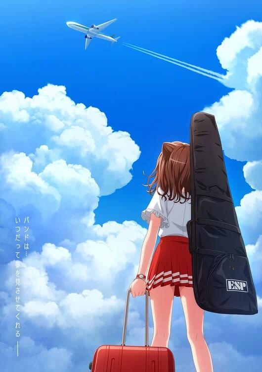 BanG Dream! Poppin' Dream! - Filme Anime revela Data de Estreia poster BanG Dream! Poppin' Dream