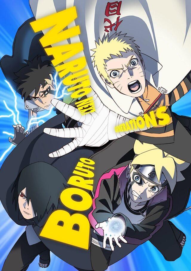 Boruto - Anime revela Poster para Kawaki Arc: Otsutsuki Awakening