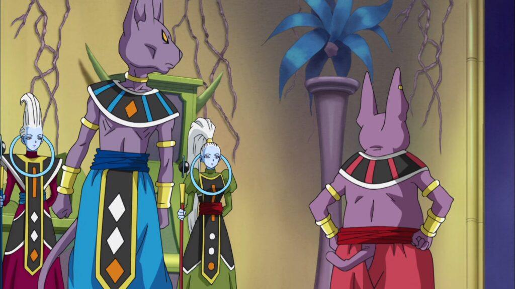Dragon Ball Super - Beerus & Champa
