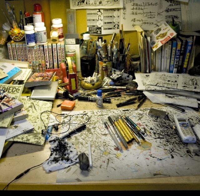 Eiichiro Oda - Secretárias onde nasceram grandes obras de Manga