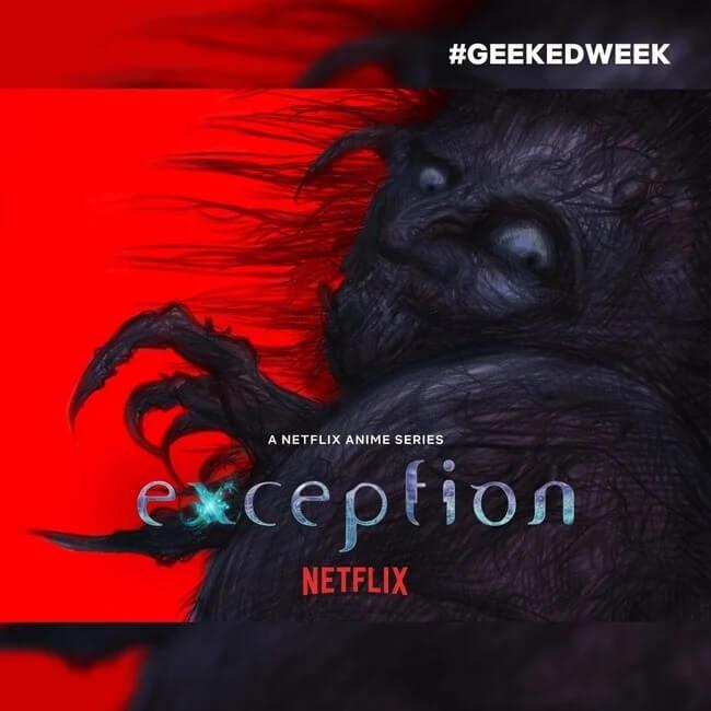 Exception - NETFLIX anuncia Anime de Horror Espacial