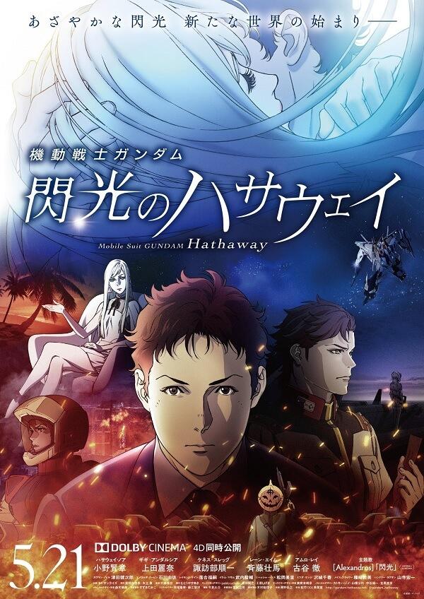 Gundam: Hathaway - Filme Anime em Julho na NETFLIX