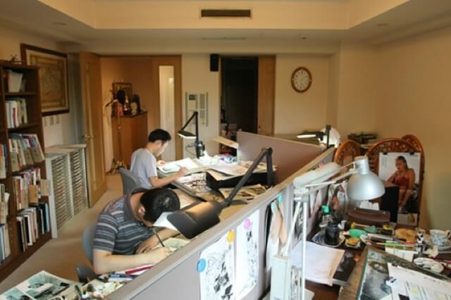 Hirohiko Araki - Secretárias onde nasceram grandes obras de Manga