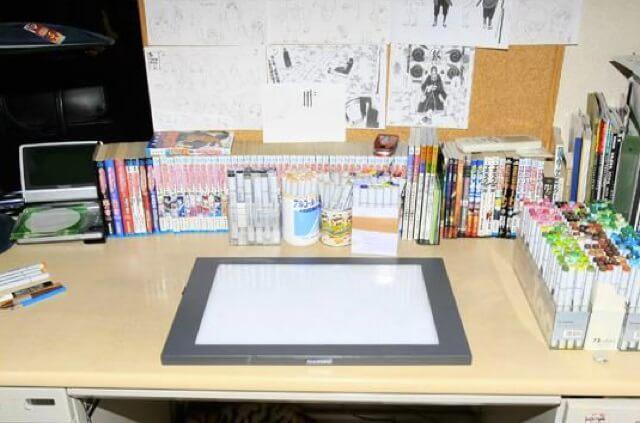 Masashi Kishimoto - Secretárias onde nasceram grandes obras de Manga