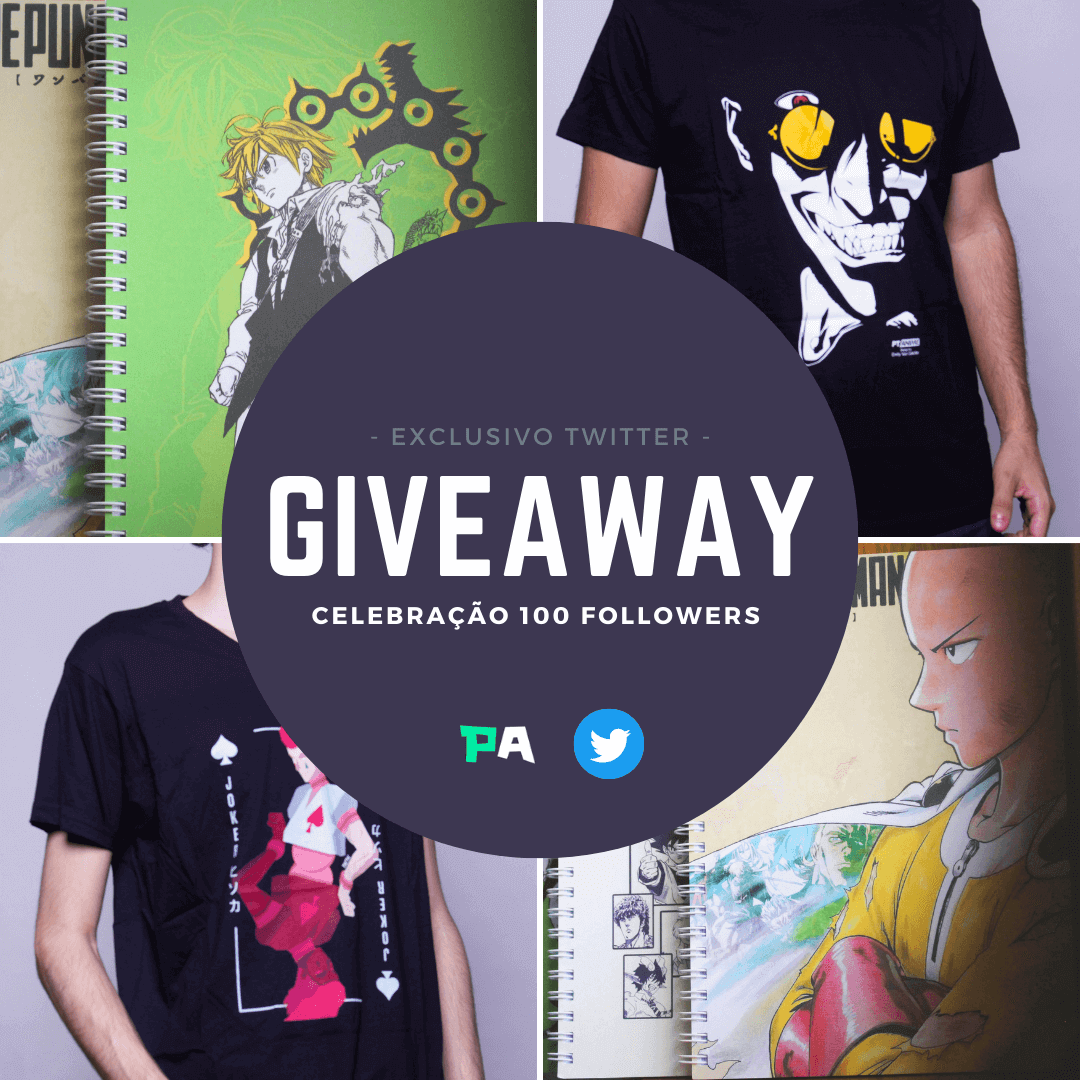 PtAnime Twitter Giveaway 100 followers