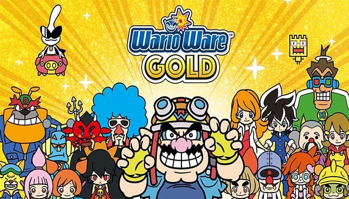 WarioWare: Gold - Capa