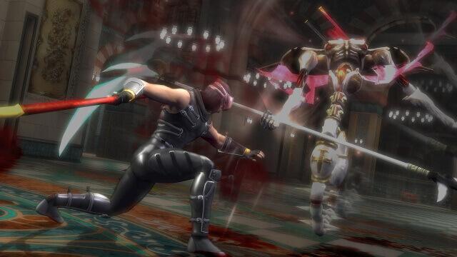 NINJA GAIDEN Sigma - Ryu luta na Catedral