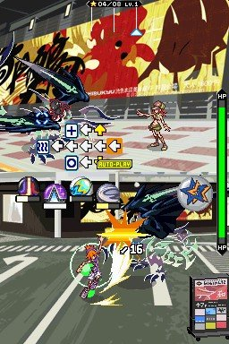 The World Ends With You Nintendo DS Combat 2