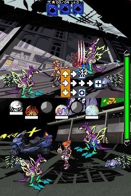 The World Ends With You Nintendo DS Combat