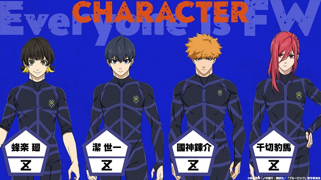 Blue Lock - Galardoado Manga recebe Anime!!