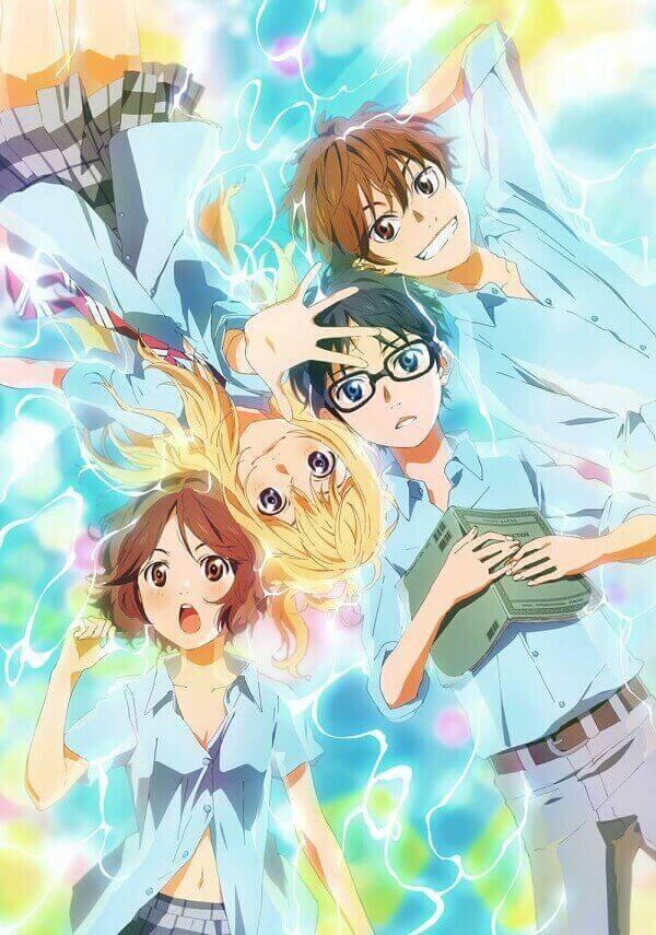 shigatsu wa kimi no uso poster_anime