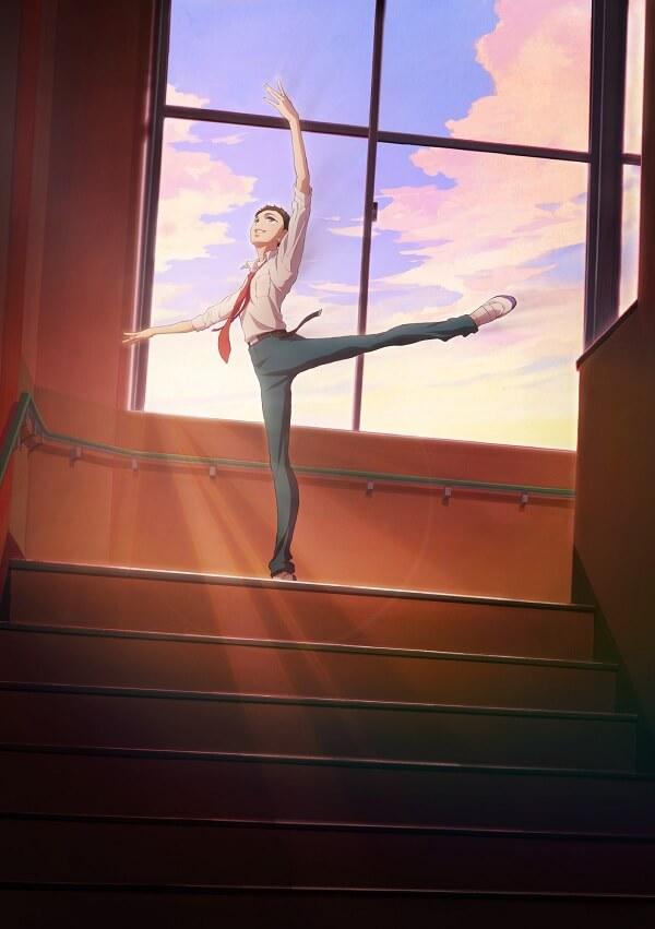 Dance Dance Danseur - Anime revela Primeiro Poster