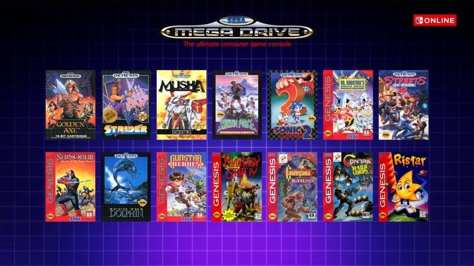 Jogos de N64 e Mega Drive chegarão ao Nintendo Switch Online