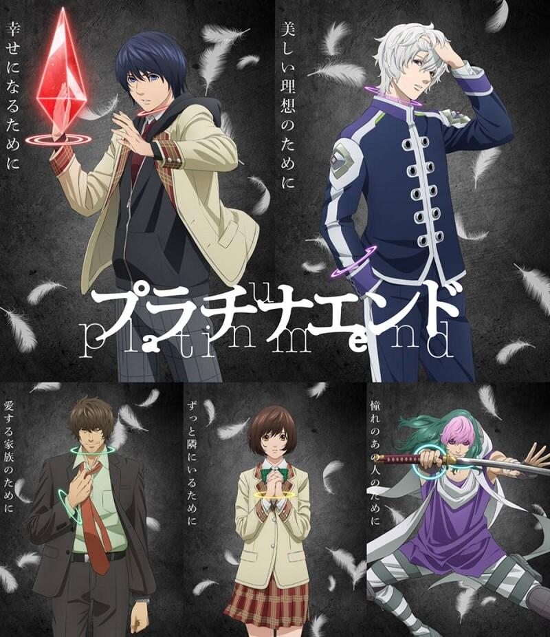 Platinum End - Anime antevê Opening no 2º Trailer